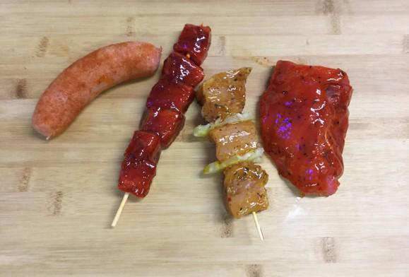 Barbecuepakket 4 stuks
